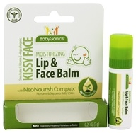 Image of BabyGanics - Moisturizing Lip & Face Balm Kissy Face Fragrance Free - 0.25 oz.