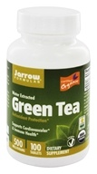 Jarrow Formulas - Organic Green Tea 500 mg. - 100 Tablets (790011170242)