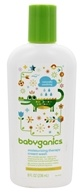Image of BabyGanics - Moisturizing Therapy Cream Wash Bye Bye Dry Fragrance Free - 8 oz.