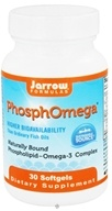Jarrow Formulas - PhosphOmega - 30 Softgels CLEARANCE PRICED (790011160502)