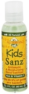 All Terrain - Kids Sanz Antiseptic & Moisturizing Hand Sanitizer Aloe and Vitamin E - 2 oz.