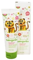 Image of BabyGanics - Toothpaste Gel Fluoride Free Say Aahhh! Watermelon - 4 oz.