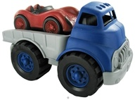 Image of Green Toys - Flatbed Truck and Race Car Ages 1+