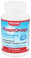 Jarrow Formulas - PhosphOmega - 60 Softgels CLEARANCE PRICED