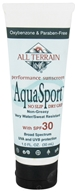 All Terrain - AquaSport Lotion 30 SPF - 1 oz. CLEARANCE PRICED