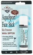All Terrain - AquaSport Face Stick Skin Protectant 28 SPF - 0.6 oz. CLEARANCE PRICED by All Terrain