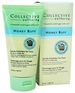 Collective Wellbeing - Honey Buff Gentle Exfoliator For Face with Honey & Rose Hips - 5.1 oz. by Collective Wellbeing