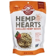 Manitoba Harvest - Hemp Hearts Natural Raw Shelled Hemp Seeds 454 g. - 1 lb.
