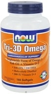 NOW Foods - Tri-3D Omega - 180 Softgels - $26.59