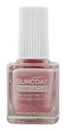Suncoat - Polish & Peel Water-Based Nail Polish Petal Blush - 0.27 oz.