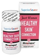 Superior Source - Just Women Healthy Skin Instant Dissolve - 60 Tablets by Superior Source