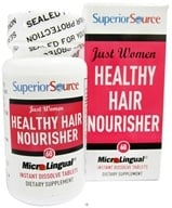 Image of Superior Source - Just Women Healthy Hair Nourisher Instant Dissolve - 60 Tablets