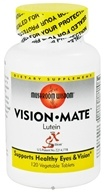 Mushroom Wisdom - Vision Mate Lutein with SX Fraction - 120 Vegetarian Tablets