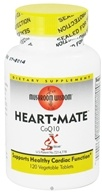 Mushroom Wisdom - Heart Mate CoQ10 with SX Fraction - 120 Vegetarian Tablets CLEARANCE PRICED