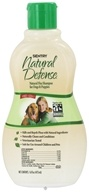 Image of Sergeant's Pet Care - Sentry Natural Defense Flea Shampoo For Dogs Spice Scent - 16 oz.
