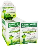 Vibrant Health - Green Vibrance Junior For Kids Green Foods (10 x 17 g) Green Apple - 170 Grams