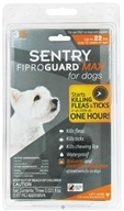 Sergeant's Pet Care - Sentry FiproGuard Max For Dogs Up To 22 lbs. - 3 Applications CLEARANCE PRICED