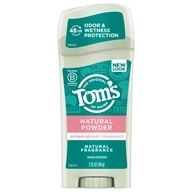 Image of Tom's of Maine - Naturally Dry Deodorant Stick Natural Powder - 2.25 oz.