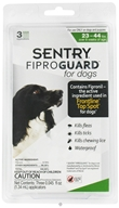 Sergeant's Pet Care - Sentry FiproGuard For Dogs 23-44 lbs. - 3 Applications, CLEARANCE PRICED