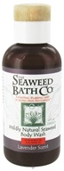 Image of Seaweed Bath Company - Wildly Natural Seaweed Body Wash with Kukui Oil and Neem Oil Lavender Scent - 4 oz. Travel Size LUCKY DEAL