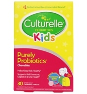 Culturelle - Kids! Probiotic - 30 Chewable Tablets by Culturelle