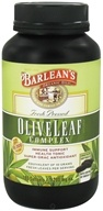 Image of Barlean's - Fresh Pressed Olive Leaf Complex 1200 mg. - 180 Softgels