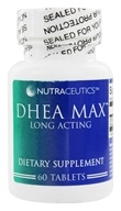 Nutraceutics - DHEA Max Long Acting 25 mg. - 60 Tablets - $20.41