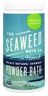 Seaweed Bath Company - Wildly Natural Seaweed Powder Bath with Hawaiian Kukui Oil Eucalyptus & Peppermint Scent - 16.8 oz. (8-16 Baths)