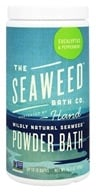 Image of Seaweed Bath Company - Wildly Natural Seaweed Powder Bath with Hawaiian Kukui Oil Eucalyptus & Peppermint Scent - 16.8 oz. (8-16 Baths)
