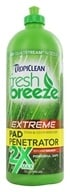 Tropiclean - Fresh Breeze 2X Carpet & Pad Penetrator Stain & Odor Remover - 32 oz.