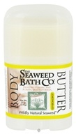 Seaweed Bath Company - Wildly Natural Seaweed Body Butter Lemongrass Scent - 0.55 oz. Travel Size CLEARANCE PRICED