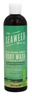 Image of Seaweed Bath Company - Wildly Natural Seaweed Body Wash with Kukui Oil and Neem Oil Eucalyptus & Peppermint Scent - 12 oz.