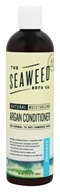 Seaweed Bath Company - Wildly Natural Seaweed Argan Conditioner with Argan Oil From Morocco Unscented - 12 oz. (858293002467)
