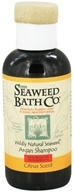 Image of Seaweed Bath Company - Wildly Natural Seaweed Argan Shampoo with Argan Oil From Morocco Citrus Scent - 4 oz. Travel Size LUCKY DEAL