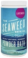Image of Seaweed Bath Company - Wildly Natural Seaweed Powder Bath with Moroccan Argan Oil Lavender Scent - 16.8 oz. (8-16 Baths)