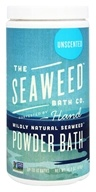 Seaweed Bath Company - Wildly Natural Seaweed Powder Bath with Moroccan Argan Oil Unscented - 16.8 oz. (8-16 Baths)
