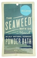 Seaweed Bath Company - Wildly Natural Seaweed Powder Bath with Moroccan Argan Oil Unscented - 2 oz.