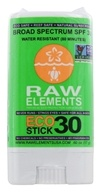 Image of Raw Elements - Eco Formula Sun Stick 30 SPF - 0.6 oz. OVERSTOCKED