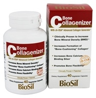 Natural Factors - Bone Collagenizer Matrix - 40 Vegetarian Capsules