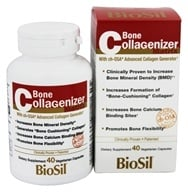 Image of Natural Factors - Bone Collagenizer Matrix - 40 Vegetarian Capsules