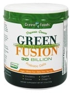 Image of Green Foods - Green Fusion Organic Greens 30 Billion Probiotic Cells - 5.2 oz.