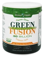 Green Foods - Green Fusion Organic Greens 30 Billion Probiotic Cells - 5.2 oz. by Green Foods