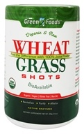 Green Foods - Wheat Grass Shots Organic and Raw - 10.6 oz., from category: Nutritional Supplements