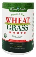 Green Foods - Wheat Grass Shots Organic and Raw - 10.6 oz.