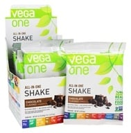 Image of Vega - All-in-One Nutritional Shake Chocolate - 10 x 1.5 oz. (43.8g) Packet