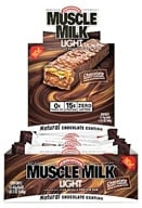 Cytosport - Muscle Milk Light Protein Bar Chocolate Peanut Caramel - 1.59 oz. by Cytosport