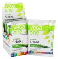 Vega - All-in-One Nutritional Shake Natural - 10 x 1.3 oz.(35.9g) Packet