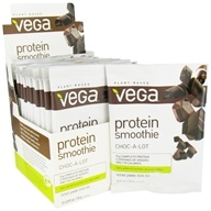 Vega - Protein Smoothie Choc-A-Lot - 12 x .92 oz. (26g) Packet - $19.19