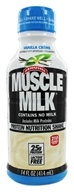 Cytosport - Muscle Milk RTD Protein Nutrition Shake Vanilla Creme - 14 oz. by Cytosport