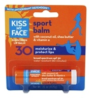 Kiss My Face - Sport Lip Balm 30 SPF - 0.15 oz.